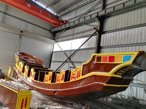 Beston pirate ship workshop